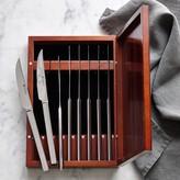 Wusthof Stainless-Steel 8-Piece Steak Knife Box Set
