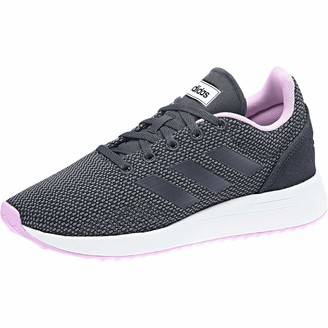 adidas Kids' Run70s K Running Shoes Grey Carbon/Onix/Blue 1.5 UK