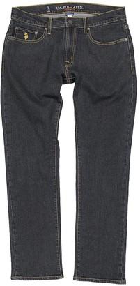 U.S. Polo Assn. Men's Denim Pants and Jeans BLUE - Dark Wash Straight-Leg Jeans - Men