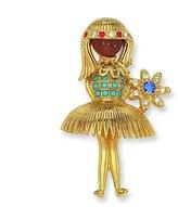 Jacqueline Kennedy Kennedy Ballerina Girl Pin