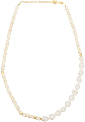 Anni Lu Nomad pearl-beaded necklace