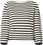 Vince knitted Breton sweater - women - Cotton/Polyamide - L