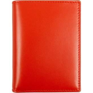 Comme des Garcons Orange Leather Purses, wallets & cases