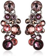 Konplott Waterfalls Brass Glass Multi Women's Earrings – 5450543300214
