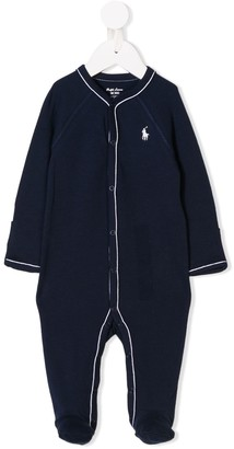 Ralph Lauren Kids Embroidered Logo Pajamas