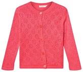 Billieblush Pink Multi Lurex Pointelle Cardigan