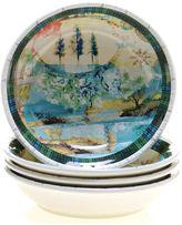 Tracy Porter Folklore Holiday 4-pc. Soup Bowl Set