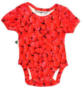 Inchworm Alley Raspberries Onesie