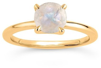 Dinny Hall 14k Yellow Gold Moonstone Ring