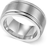 Triton Men's Stainless Steel Ring, 9mm Wedding Band