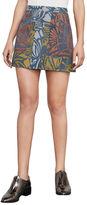 BCBGMAXAZRIA Raya Floral-Print Miniskirt