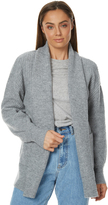 Rusty Womens Rally Cardigan Grey