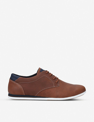Aldo Banstock woven Derby low-top trainers