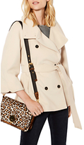 Karen Millen Belted Wrap Cape Coat