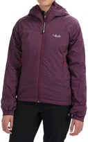Rab Strata Polartec® Alpha Hooded Jacket - Insulated (For Women)