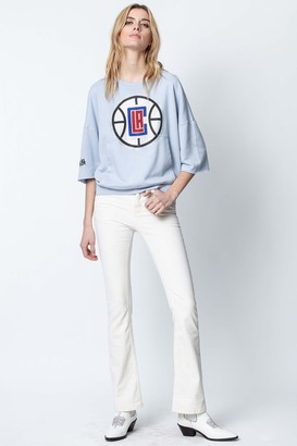 Zadig & Voltaire Kaly NBA Sweatshirt