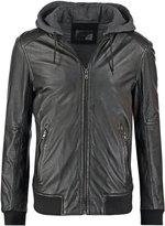 Oakwood Jimmy Leather Jacket Noir