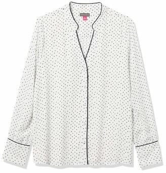 Vince Camuto Women's Button Up Blouse
