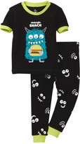 Petit Lem Midnight Snack Monster Pajama - 2-Piece Set (Baby Boys)