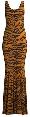 Norma Kamali Marissa Fishtail Gown