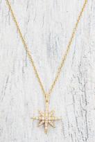 Elizabeth and James Compass Rose Pendant Necklace