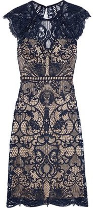 Catherine Deane Melody Open-back Macrame Lace Dress