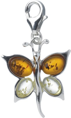 Nature d'Ambre 312151 Women's Charms Sterling Silver 925/1000 Amber