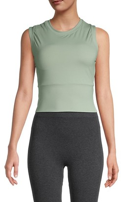 Electric Yoga Cropped Workout Top