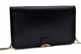 Christian Dior Navy Leather Handbags