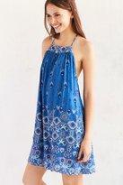 Ecote Gigi Mixed Print T-Back Frock Dress