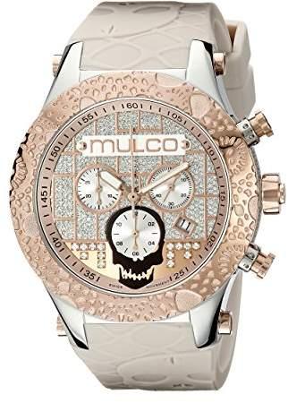 Mulco Men's MW5-2331-113 Couture Analog Display Swiss Quartz Beige Watch