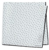 Lanvin Men's Dot Silk Pocket Square