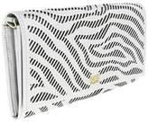 Roberto Cavalli Long Size Wlt W/strap Audrey 8 White/black Wallet.