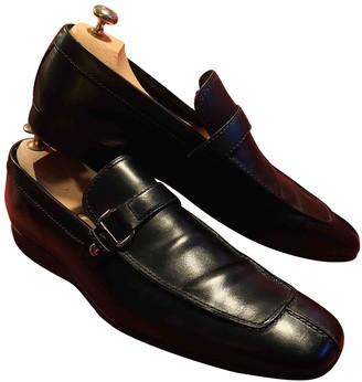 Louis Vuitton Black Leather Flats