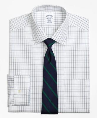 Brooks Brothers Regent Fitted Dress Shirt, Non-Iron Windowpane