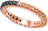 Macy's Bicolor Diamond Eternity Band (1 ct.t .w.) in 14k Rose or White Gold