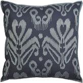 Asstd National Brand Idea Nuova Republic Blue Damask Decorative Pillow