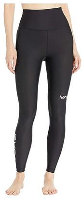 RVCA Sport Leggings (Black) Women's Casual Pants