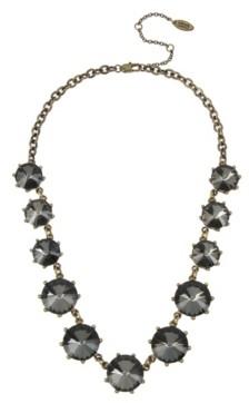 Miriam Haskell New York Rivoli Stone Frontal Necklace