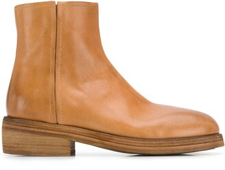Marsèll Side Zip Ankle Boots
