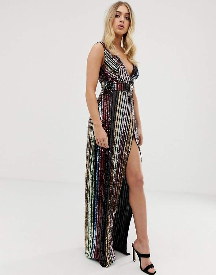 84352b4b Sequin Maxi Dress - ShopStyle Australia