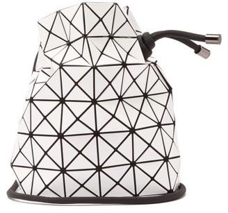 Bao Bao Issey Miyake Wring Drawstring Pvc Bucket Bag - White