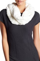 14th & Union Textured Faux Fur Snood Scarf