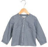 Bonpoint Girls' Gingham Button-Up Top