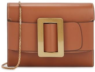 Boyy Buckle brown leather cross-body bag