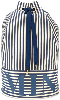 Marlies Dekkers Beach striped duffle bag