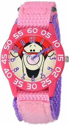 Disney Girls Analog-Quartz Watch with Nylon Strap