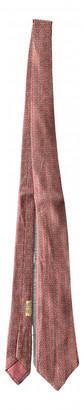 Hermes Pink Silk Ties