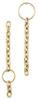 Zoë Chicco 14K Yellow Gold Mix Match Circle Drop Earrings