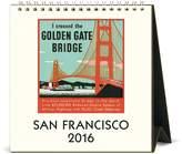 Cavallini & Co. CAL16-8 2016 San Francisco Desk Calendar
